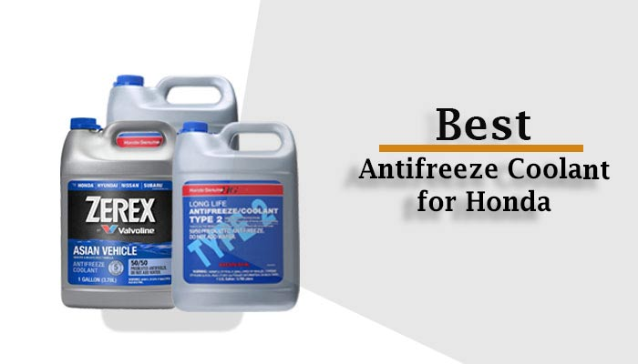 6 Best Antifreeze Coolant for Honda Civic, Accord & Others in 2021