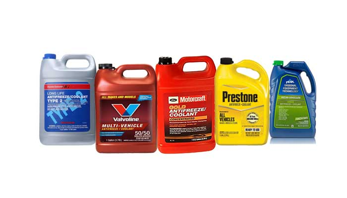 Types of Coolant and Coolant Color